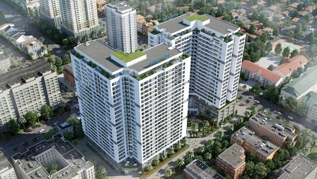 Hình ảnh phối cảnh dự án Rivera Park Hà Nội, 69 Vũ Trọng Phụng.