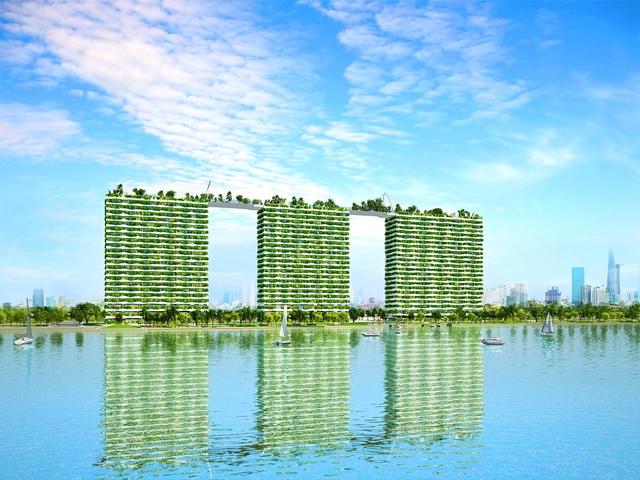 Dự án xanh chính phẩm Hoa Kỳ Diamond Lotus Riverside.