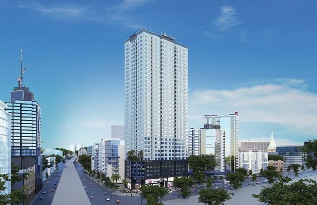 Phối cảnh dự án Flc Star Tower – 418 Quang Trung, Hà Đông.