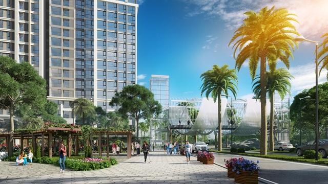 Toà căn hộ Park View là cơ hội cuối cùng để sở hữu căn hộ thuộc dự án Vinhomes Central Park.