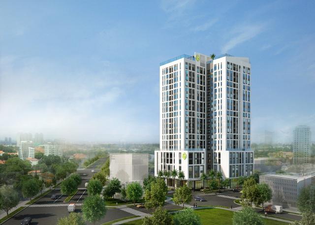 Dự án Newton Residence sở hữu vị trí đắc địa: 02 mặt tiền đường Trương Quốc Dung và Nguyễn Trọng Tuyển.