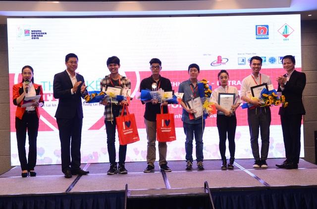 Lễ trao giải cho những thí sinh xuất sắc nhất NPYDA 2015.