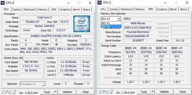 Phiên bản thấp nhất cũng được trang bị tới hai khe RAM DDR4.