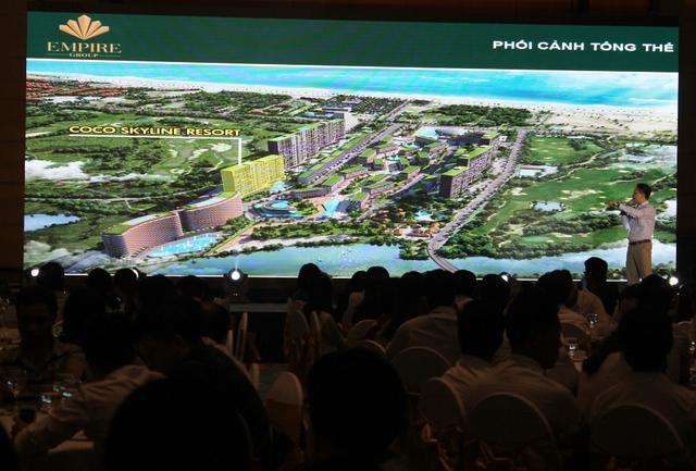 """Lễ giới thiệu """"Dự án Coco Skyline Resort"""" thu hút hơn 500 khách hàng tham dự."""