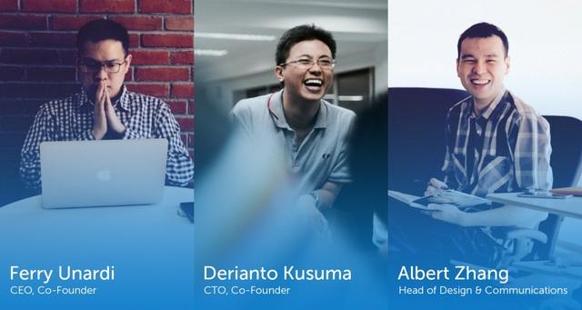 Ba nhà sáng lập của Traveloka đều là những kỹ sư CNTT giàu kinh nghiệm.