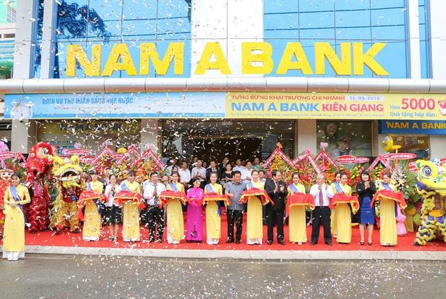 …và Nam A Bank Kiên Giang.