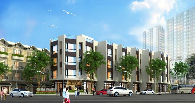 Hà Nội: Lộc Ninh tạo ấn tượng nhà giá rẻ chỉ 580 triệu/căn - Ảnh 1.