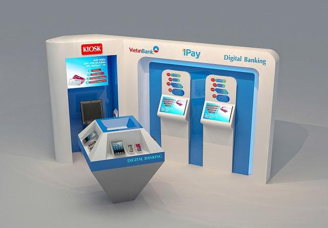 Mô hình khu vực giao dịch dành cho Khách hàng ưu tiên và Digital Banking tại các chi nhánh bán lẻ sắp khai trương.