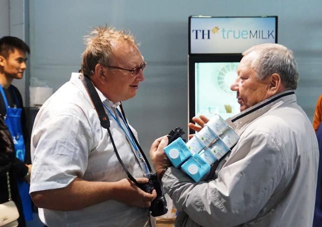 Người tiêu dùng Nga đã có những thiện cảm tốt đẹp với sản phẩm của TH true MILK.