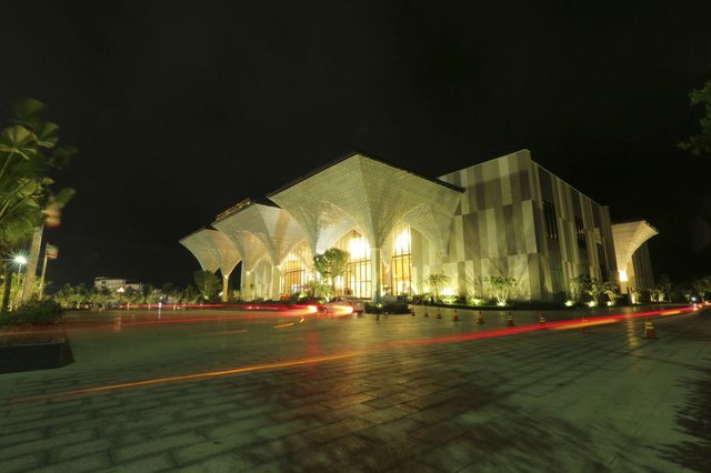 Trung tâm hội nghị quốc tế FLC Quy Nhơn – địa điểm lý tưởng để tổ chức nhiều sự kiện, hội nghị cấp cao trong nước và quốc tế.