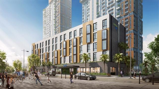 Boutique Hotel Garden Bay – Một trong những sản phẩm hút nhà đầu tư của dự án Cocobay Đà Nẵng.