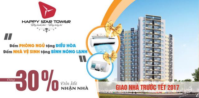 Happy Star Tower – cuộc sống xanh trung tâm quận Long Biên.