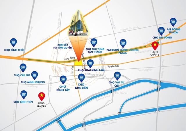 Golden Plaza – tâm điểm giao thương các chợ sỉ lớn nhất cả nước. Hotline: 0888 75 8828.