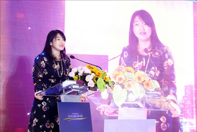 Bà Trương Thu Trà – Giám đốc Phát triển Cộng đồng Vinhomes.