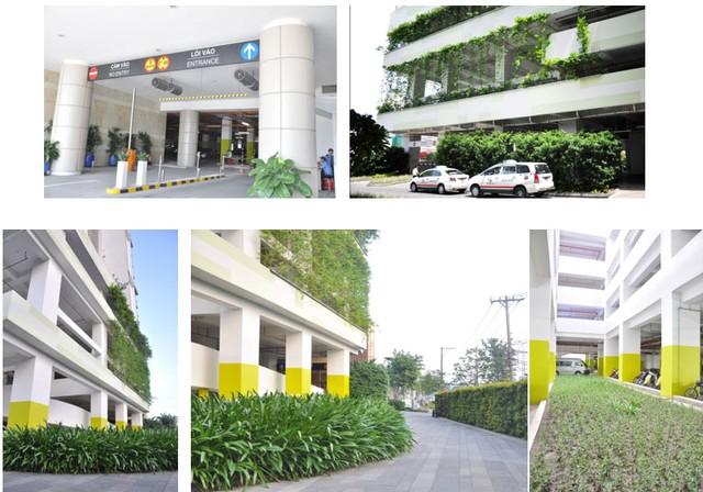 Một mô hình bãi đỗ xe trên cao được phát triển bởi đơn vị từ Singapore. Ảnh từ Internet.