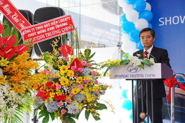 Ông Nguyễn Đăng Hoàng TGĐ Công ty CP Auto Trường Chinh.