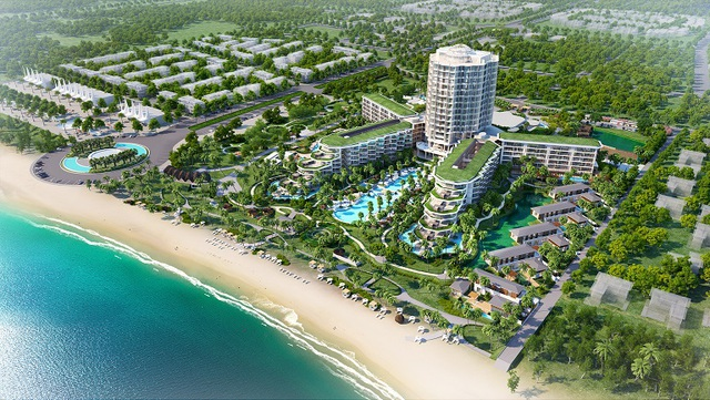 Dự án InterContinental Phu Quoc Long Beach Resort & Residences.