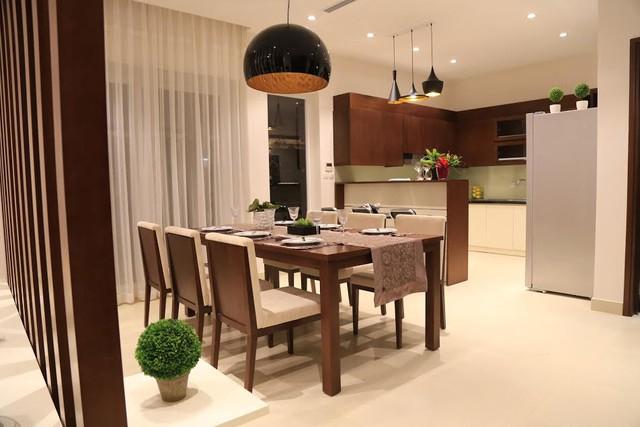 Mỗi không gian dù nhỏ đều được thiết kế và bố trí nội thất hợp lý.