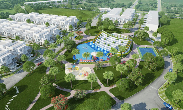 Melosa Garden – thiết kế xanh, sạch, đồng bộ và hiện đại, được nhiều khách nước ngoài lựa chọn.