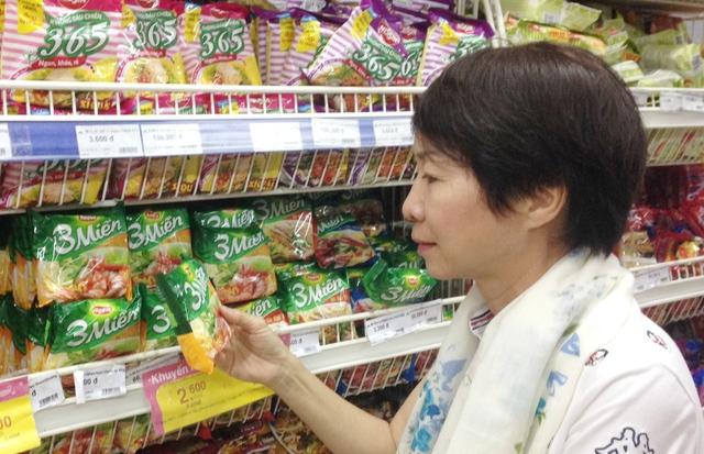 """Nhãn hàng """"3 Miền"""" của UNIBEN liên tục được người tiêu dùng ưa chuộng."""