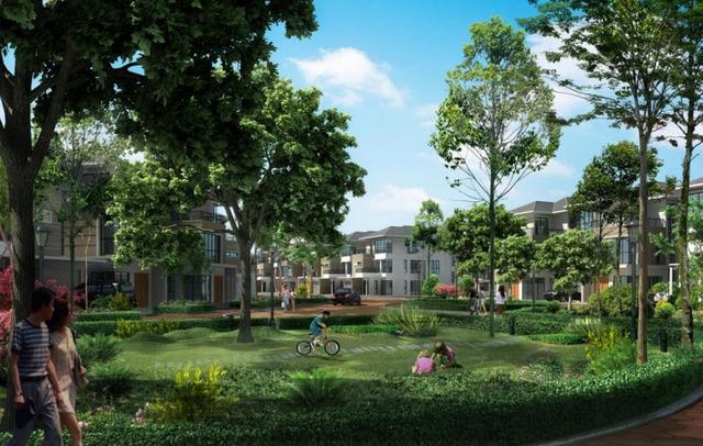 Dự án Gelexia Riverside với hơn nửa diện tích là không gian xanh