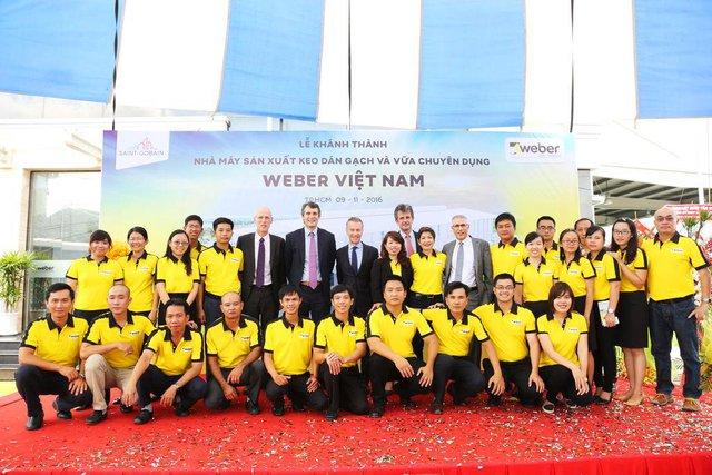 Tập đoàn Saint-Gobain hoàn toàn tin tưởng vào tiềm năng phát triển của thị trường vật liệu xây dựng Việt Nam nói chung và các sản phẩm keo dán gạch nói riêng.