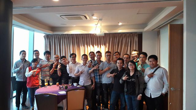 Chương trình offline tại Sài Gòn ra mắt dự án Netstar System.