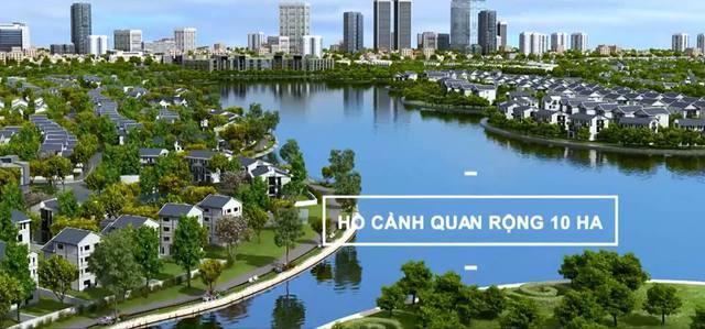 The Golden An Khánh sở hữu đường dạo bộ rợp bóng cây xanh, thiết kế 4 làn đường mang lại cảm giác thoải mái cho cư dân nơi đây.
