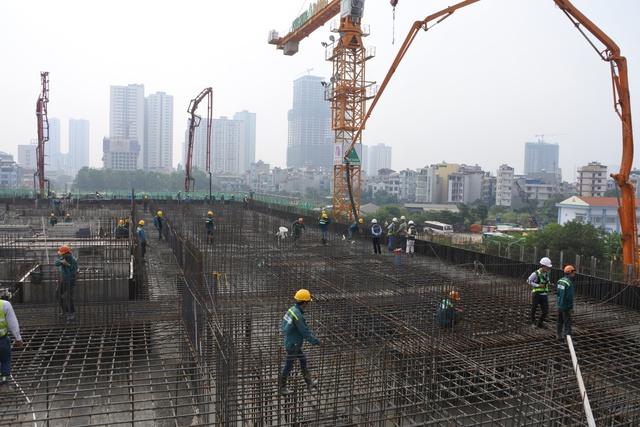 Công trình CT4 Booyong Vina (khu đô thị Mỗ Lao, Hà Nội) do Phục Hưng Holdings thi công với vai trò nhà thầu chính.