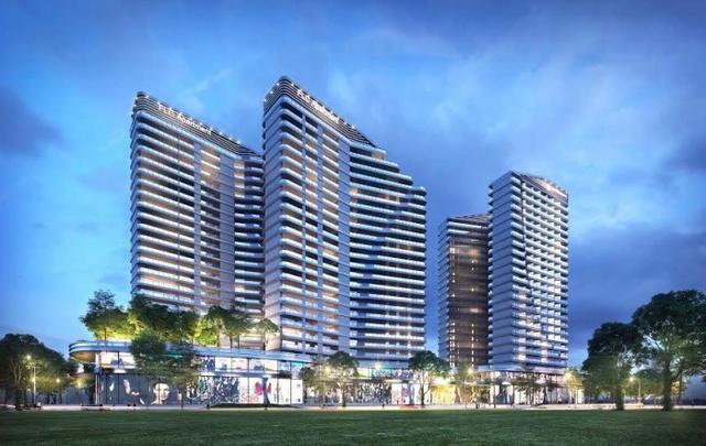 Tổ hợp 600 căn hộ FLC Sea Tower hiện đang trong giai đoạn làm móng và dự kiến sẽ khai trương vào năm 2018.