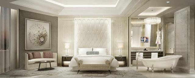 Thiết kế đẳng cấp theo tiêu chuẩn khắt khe của Swisstouches trong dịch vụ khách sạn.