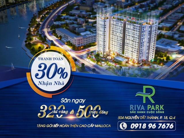 Chương trình ưu đãi dự án Riva Park.