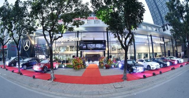 Haxaco Láng Hạ là trung tâm bán hàng và dịch vụ đầu tiên của MBV tại miền bắc đạt tiêu chẩn SM600-ASM14.