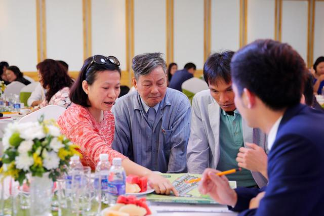 Một số lượng lớn giao dịch được thực hiện thành công ngay trong sự kiện mở bán chính thức FLC Eco House Long Biên.