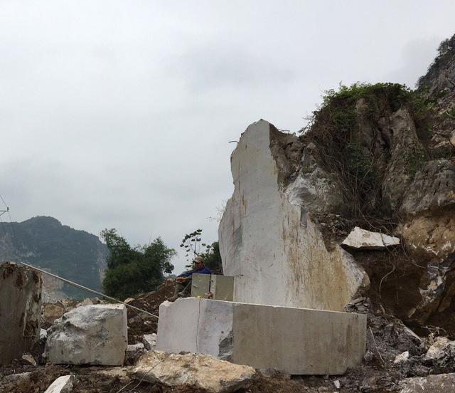 Mỏ đá AMD Group tại Thanh Hóa.