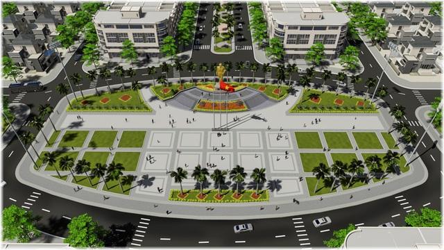 Quảng trường Tôn Đức Thắng đem đến không gian sinh hoạt chung cho tất cả cư dân tại Tp. Long Xuyên.