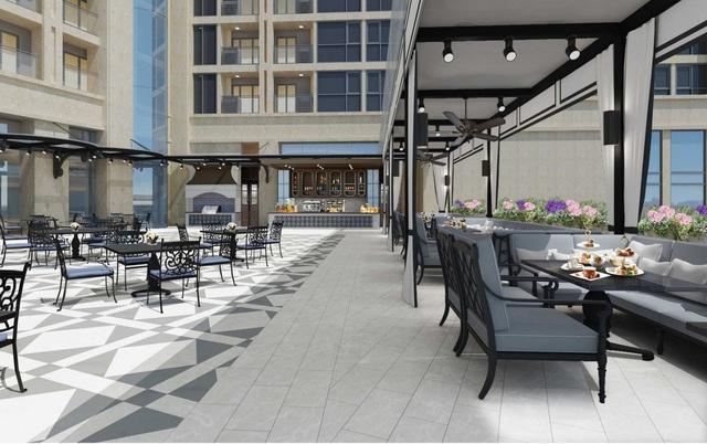 Một tiện ích đẳng cấp của dự án Four Points by Sheraton và Luxury Apartment cũng đang hoàn thiện.