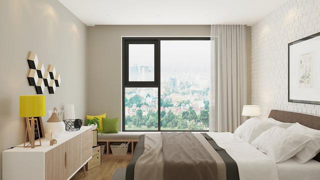 Căn hộ tòa A2 – An Bình City có diện tích linh hoạt từ 74.3 m2 đến 114.5 m2.