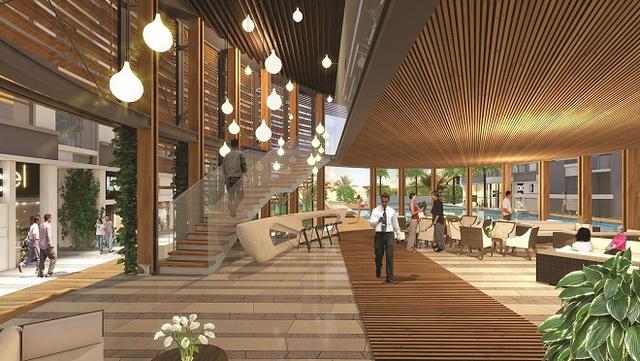 Khu Clubhouse hiện đại của dự án The Western Capital.
