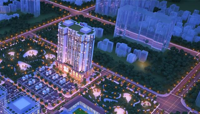 Tổng thể dự án Thanh Xuân Complex.