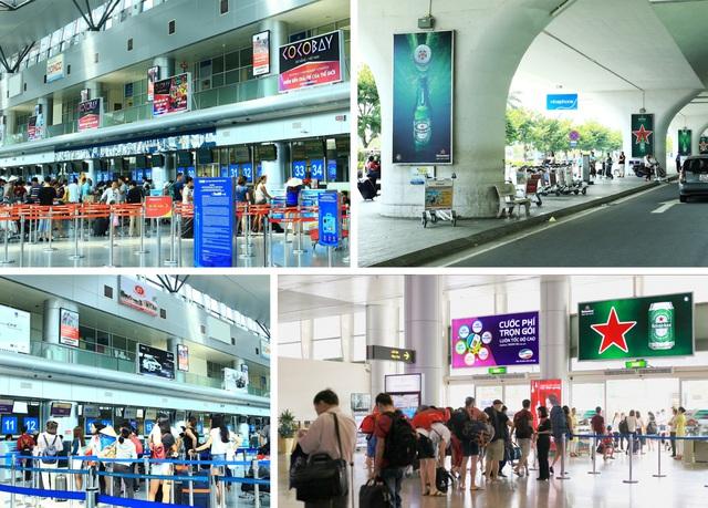 Các dự án quảng cáo sân bay tiêu biểu Hải Trần đã thực hiện trong thời gian qua.