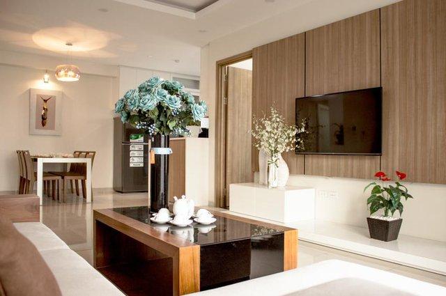Thiết kế căn hộ mẫu dự án Sun Square.