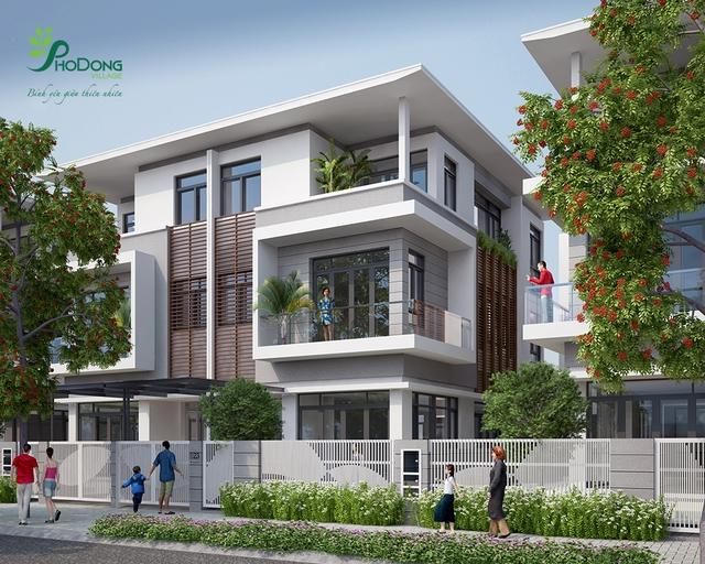 PhoDong Village đang tạo sức hút tại Khu Đông thành phố.