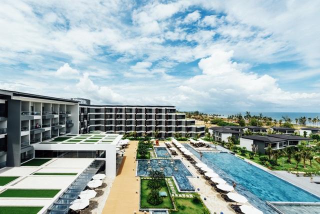 Novotel Phu Quoc Resort góp phần nâng tầm thương hiệu và dịch vụ du lịch của Phú Quốc.