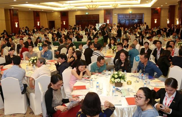 Hơn 400 khách hàng tham dự sự kiện giới thiệu Block A, dự án Citisoho vào trung tuần tháng 12 vừa qua.
