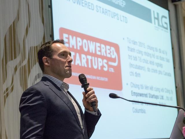 Ông Paul Girodo - Giám đốc Tổ chức Hỗ trợ khởi nghiệp Empowered Startups.