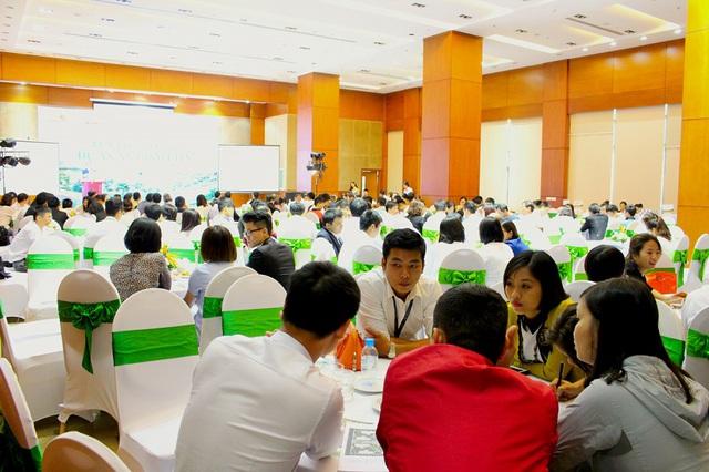 """Sự kiện """"An Bình City – cùng mua cùng ở  hứa hẹn sẽ thu hút hàng trăm lượt khách hàng tham dự."""