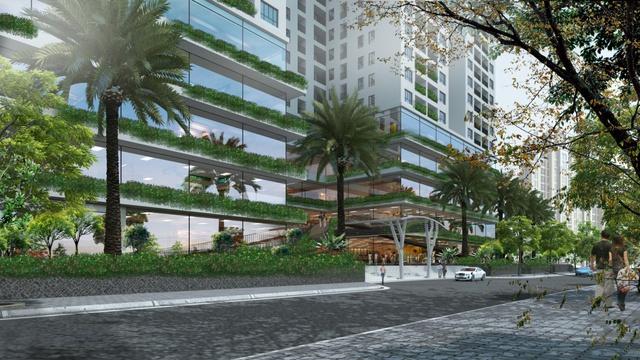 Từ tầng 1 – tầng 5 của dự án là trung tâm thương mại, siêu thị, nhà hàng, shop thời trang… đáp ứng nhu cầu vui chơi giải trí của cư dân và người dân khu vực lân cận EcoLife.