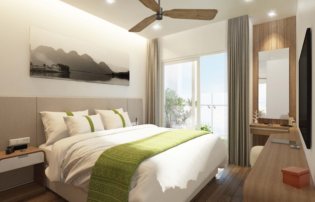 Tất cả các căn Office-tel & Suites đều được trang bị 100% nội thất sang trọng.