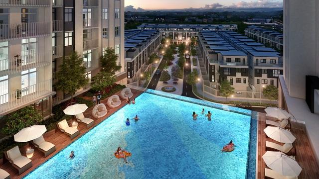 Thiết kế tiện ích đẳng cấp là một điểm cộng lớn của dự án HaDo Centrosa Garden.